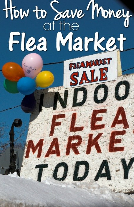 How to Save Money at the Flea Market