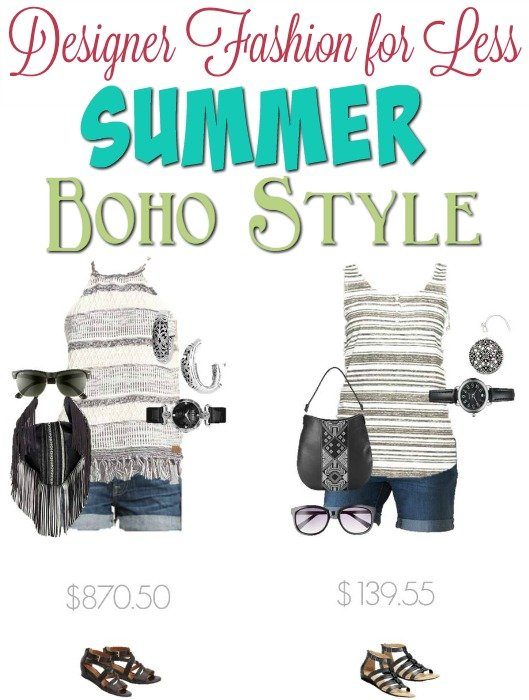 Designer Fashion for Less - Summer Bohemian Style