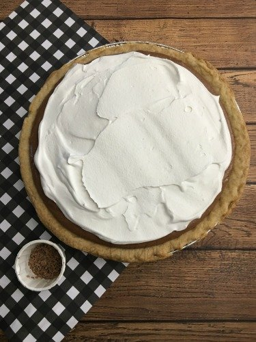 French Silk Pie Recipe Whipped Cream