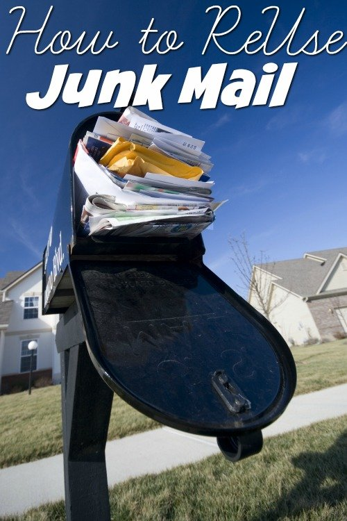 How to ReUse Junk Mail