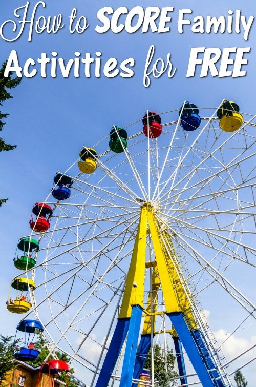 How to Score Fun Family Activities for Free