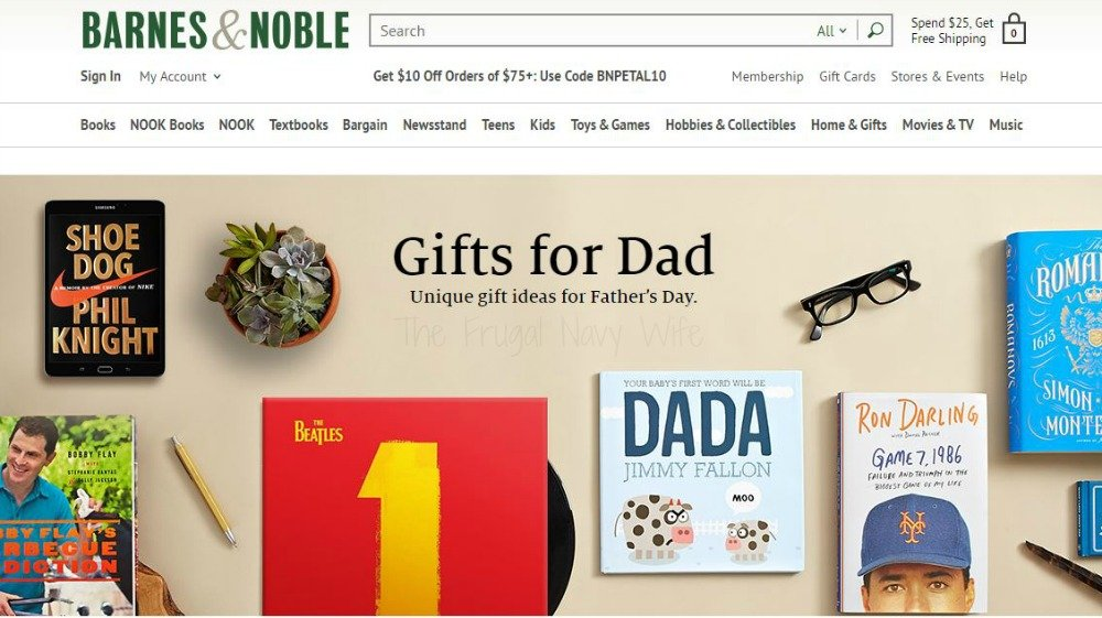 Barnes and Noble Fathers Day Gift Guide