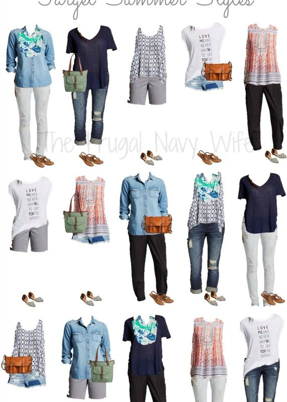 Mix & Match Target Summer Outfits