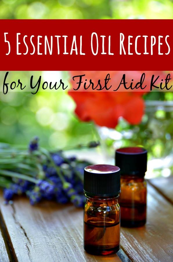 First Aid Supplies - Using Essential Oils in your First Aid Kit