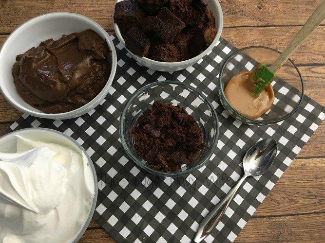 Brownie Trifle Dessert Recipe Ing