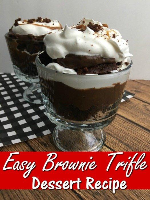 Brownie Trifle Dessert Recipe