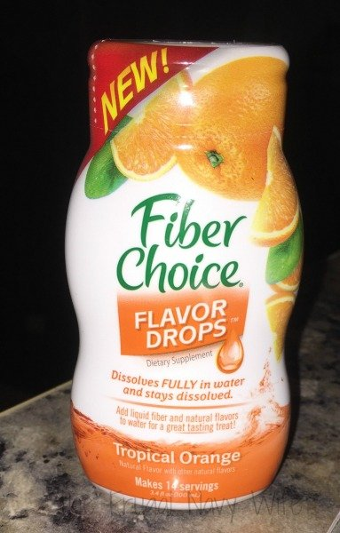 New Fiber Choice Flavor Drops Orange