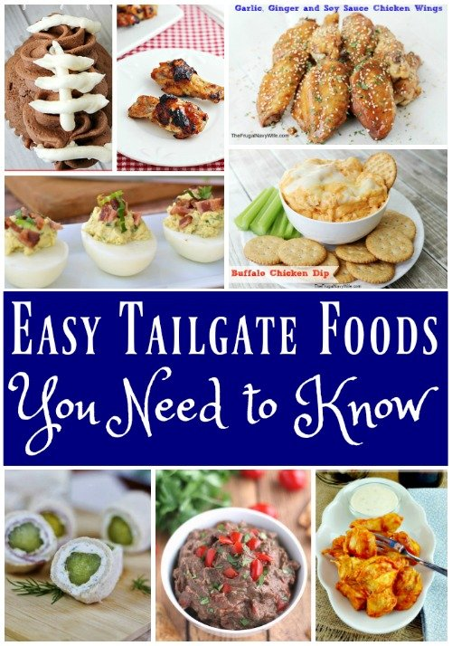 Easy Tailgate Finger Food Recipes