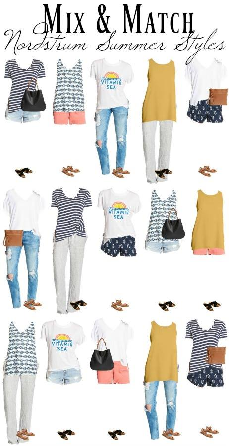 Mix & Match Nordstrom Womens Summer Styles