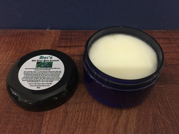 Doc's Old Time Pain Cream - All Natural Pain Relief Open