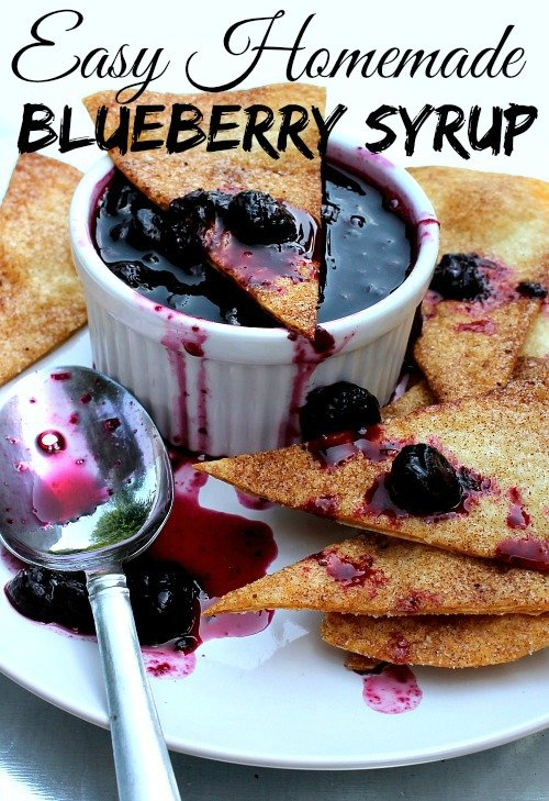 Easy Homemade Blueberry Syrup Recipe 2