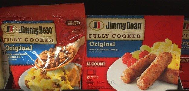Jimmy Dean In Store