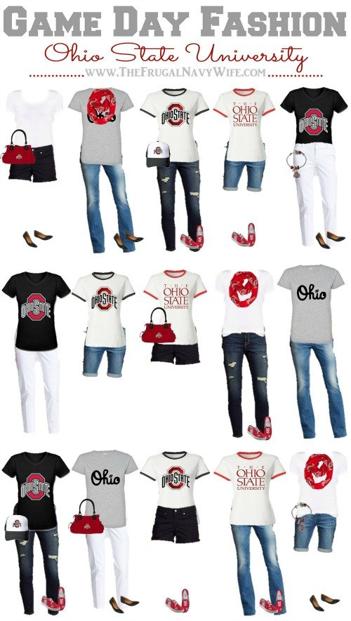 I am an Ohio State Fan & a girl & I'm not about to wear the same outfit every Saturday! So here is how to build your own wardrobe with Ohio State apparel.