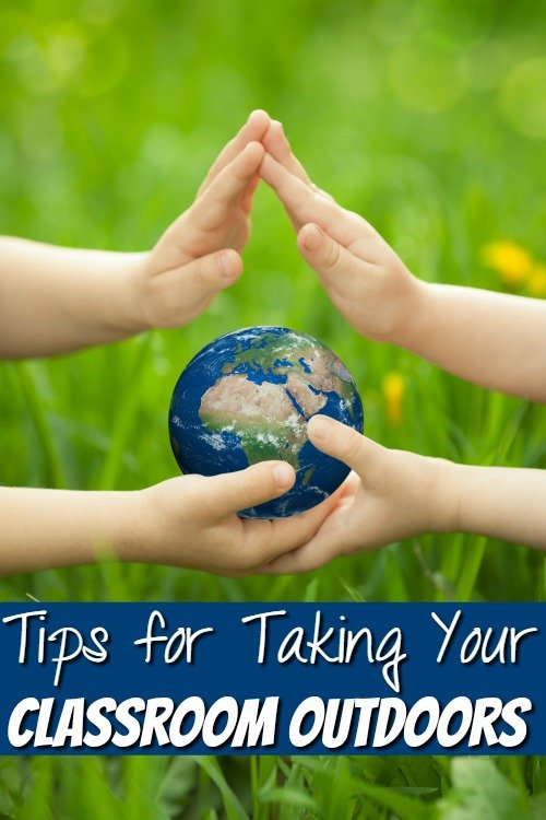 I love the flexibility homeschooling offers like being able to have an outside classroom! Use these tips for taking your classroom outdoors for yours!