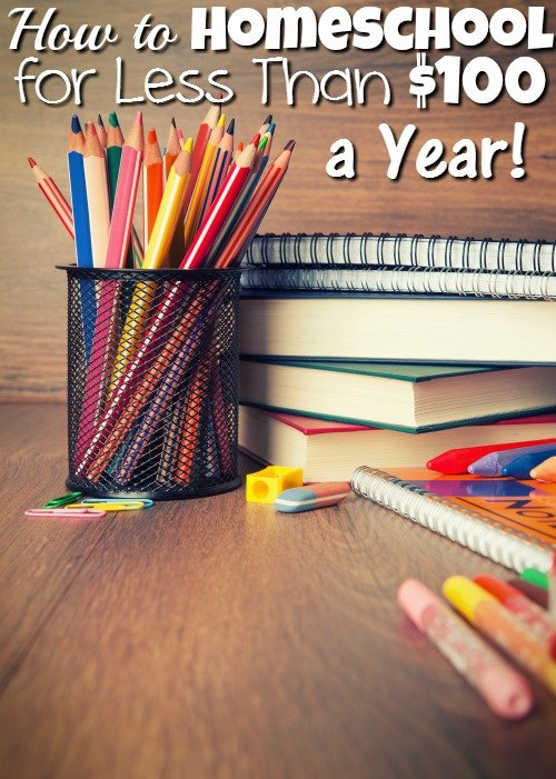 Homeschooling on a Budget – How to Homeschool for Less Than $100 a Year