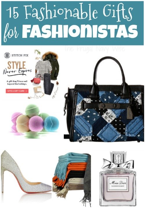 Fashionistas can be the hardest people o your list to shop for but these gift ideas for fashionistas will be a hit every time!