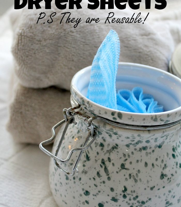 Easy Homemade Dryer Sheets – PS They are Reusable!