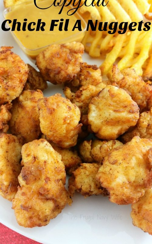 Copycat Chick Fil A Nuggets Recipe