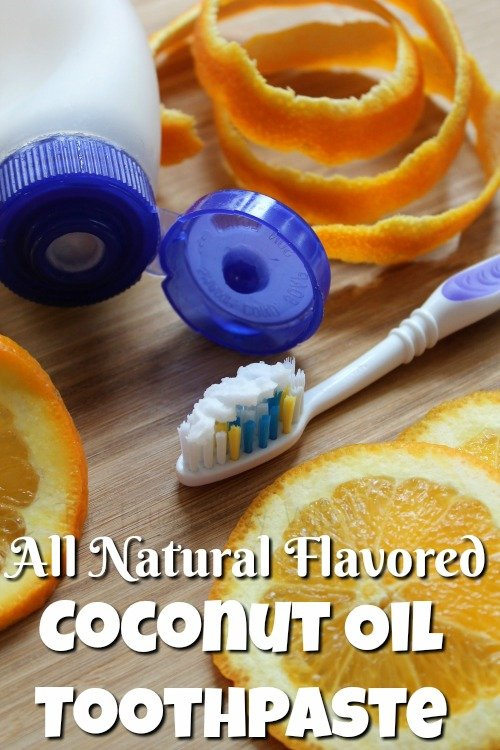 Natural Toothpaste - Flavored Coconut Oil Toothpaste