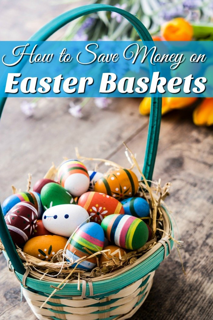 When did Easter become a second Christmas for kids? Stop with the expensive Easter Baskets and see how you can save money on them!