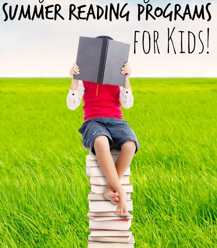 HUGE List of Free Summer Reading Programs for Kids