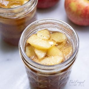 We LOVE this Apple Pie Jam Recipe. This recipe for Apple Pie Jam includes how to preserve it so it doesn't go bad before you use it all. #applepie #jam #canning #frugalnavywife | Canning Recipes | Apple Pie Jam Recipe | Jam Recipes | Apple Recipes | How to Can Jam