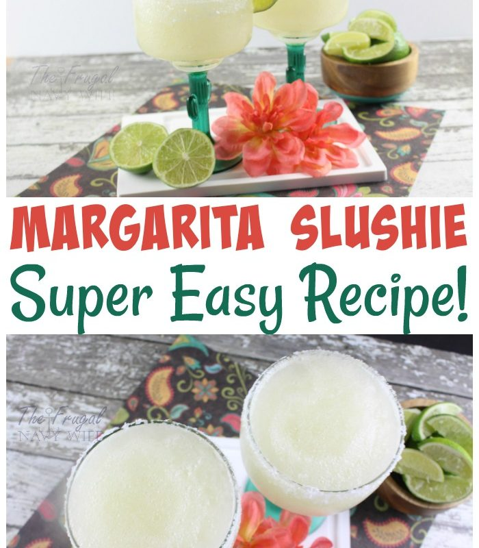 Best Margarita Recipe – Easy Slushie Margarita Recipe
