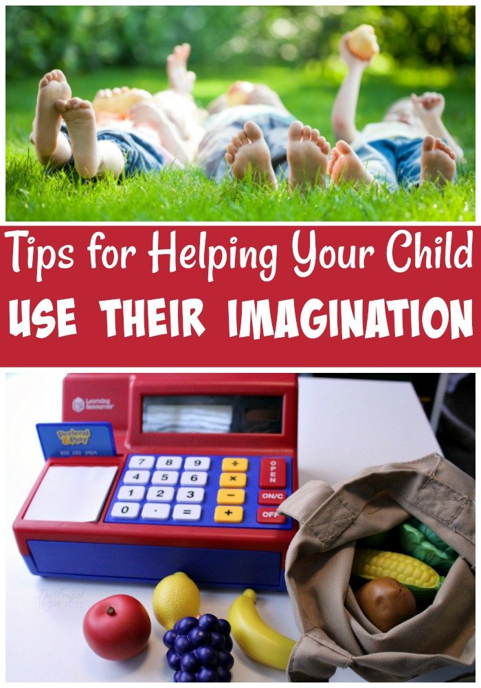 Creative play is one of the best ways to help children learn! To do this it's important to encourage them to use their imagination! Here are a few tips!