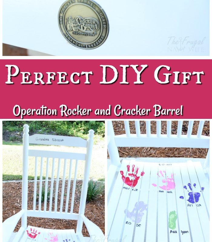 Perfect DIY Gift for Grandma From Operation Rocker and Cracker Barrel