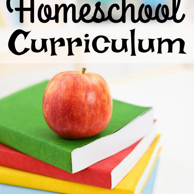 Our Homeschool Curriculum for 2017 – 2018 School Year
