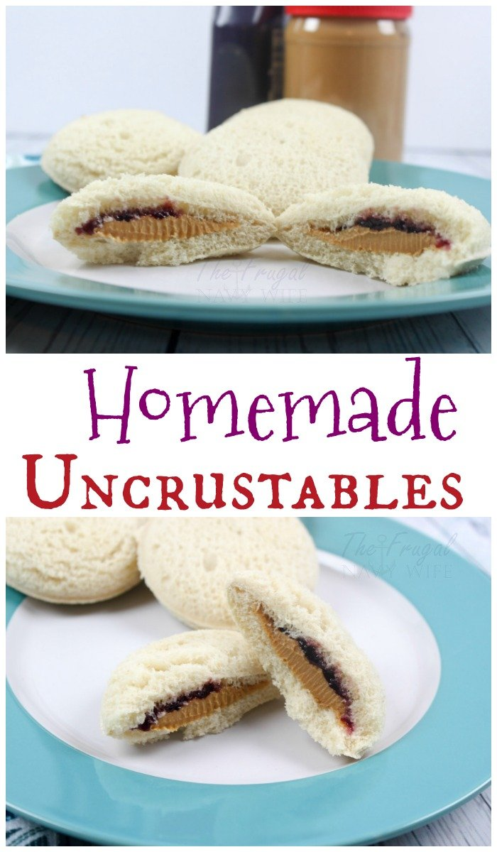 These homemade uncrustables are perfect for a super easy lunch you can pre make, grab, and go. This is the perfect time and money saver you NEED!