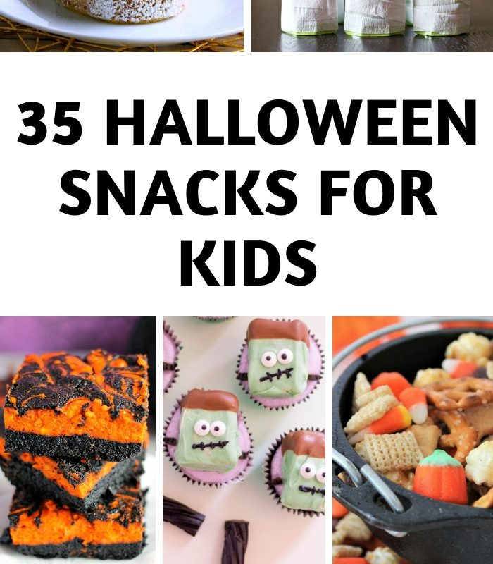 35 Halloween Snack Ideas for Kids!