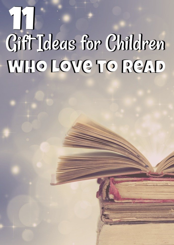 Holiday shopping can be hard so that is why holiday gift guides are so popular. This gift guide has 11 Christmas Gifts for Children Who Love to Read.