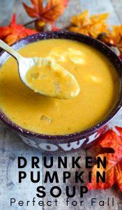 Drunken Pumpkin Soup Recipe