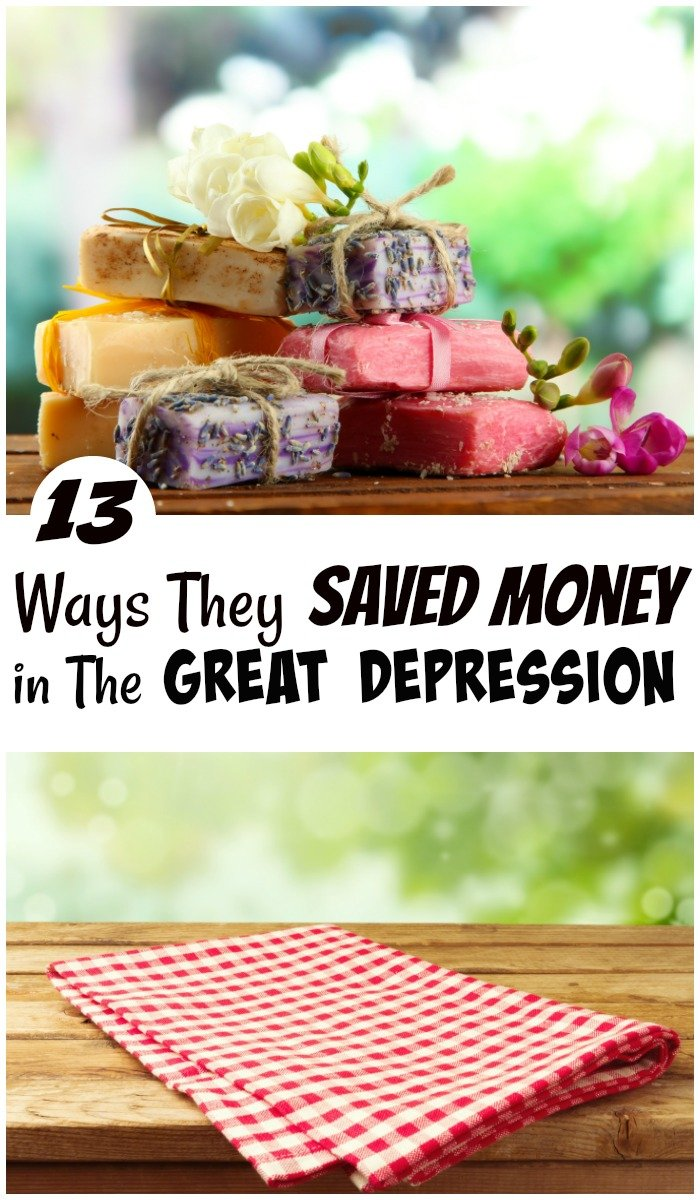 During the Great Deression they knew how to skrimp and save every penny. They didn't spend money untl they exhausted every other option, because they didn't have a choice. Here are 13 ways they saved money then that we don't now. #SavingMoney #FrugalNavyWife #SaveMoney #frugalliving #FrugalLivingTips #MoneySavingTips #budget #budgetfriendly