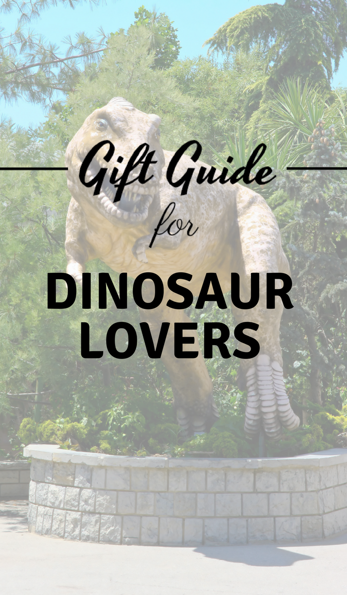 Dinosaur Statue for Dinosaur Gift Guide