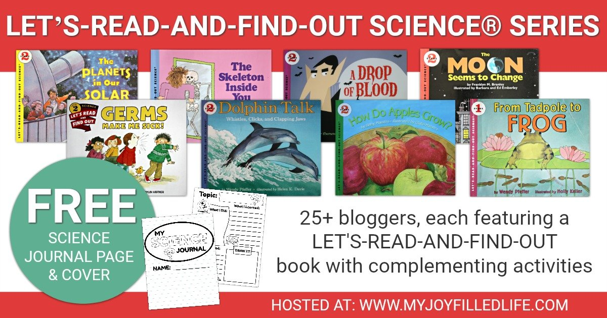 Let's read and find our science book series. 25+ bloggers each featuring a book and activity.