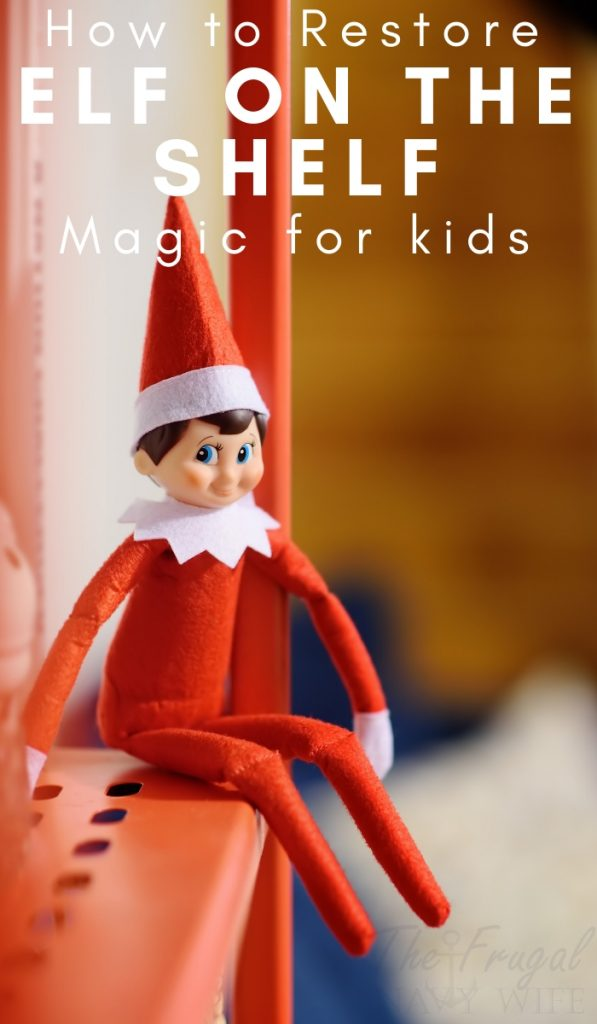 What do you do if a child touches the Elf and causes it to lose his magic? Use this free printable on How to Restore Elf on the Shelf Magic in your home. #christmas #elfontheshelf #frugalnavywife #christmasmagic | Christmas | Elf on the Shelf Ideas | Elf on the Shelf Ideas for kids