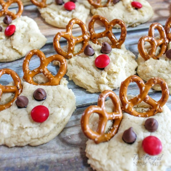 Rudolph Cookies – Perfect Easy Christmas Cookies