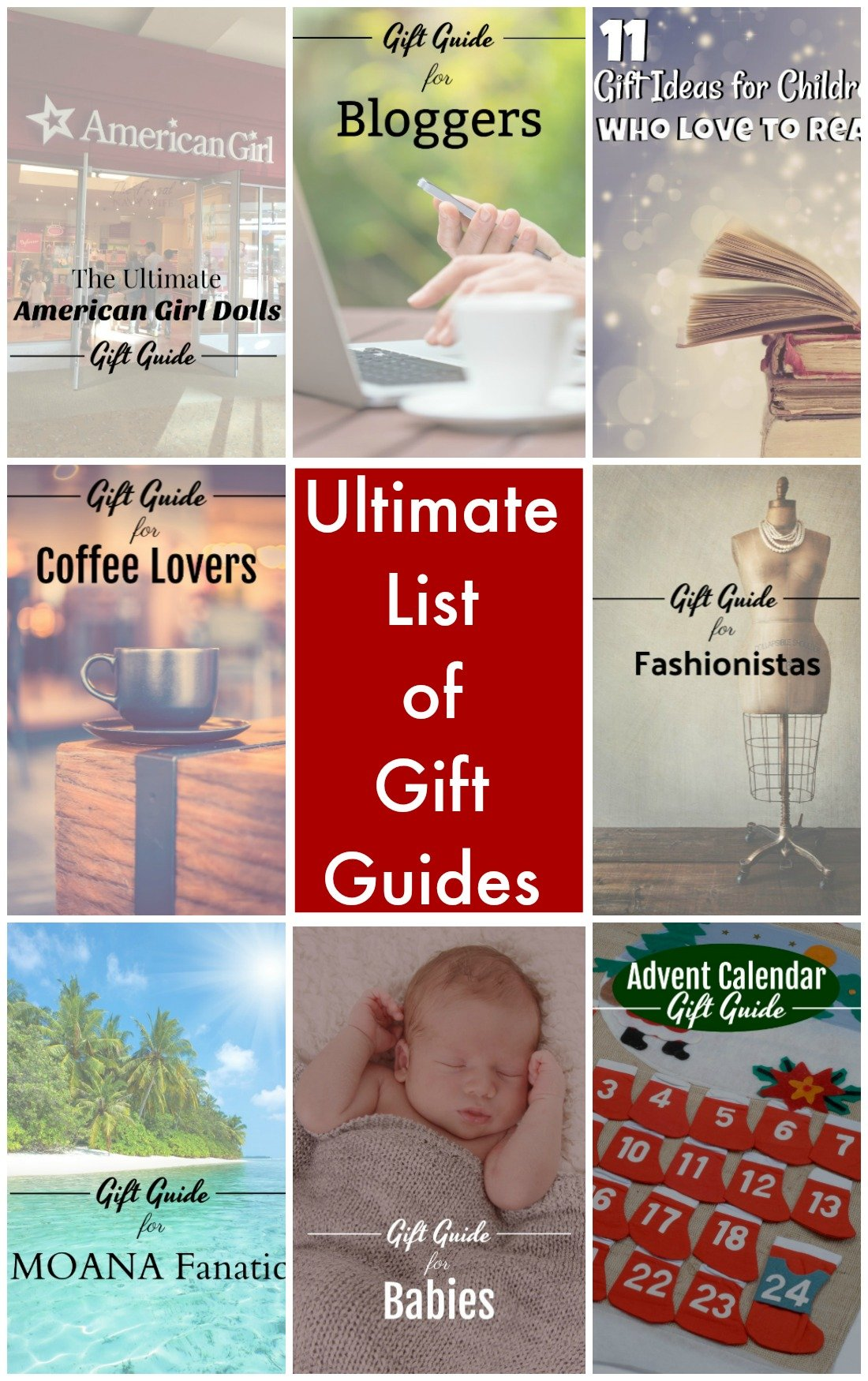 The Ultimate List of the Best Holiday Gift Guides. Something for everyone on your list. Stocking stuffer ideas, ideas for holidays, birthdays, and more. #holidaygiftguide #FrugalNavyWife #holidaygiftidea #holidaygiftideas #holidaygifts #holidaygiftsforkids #holidaygiftguideforkids #Holidaygiftguideideas