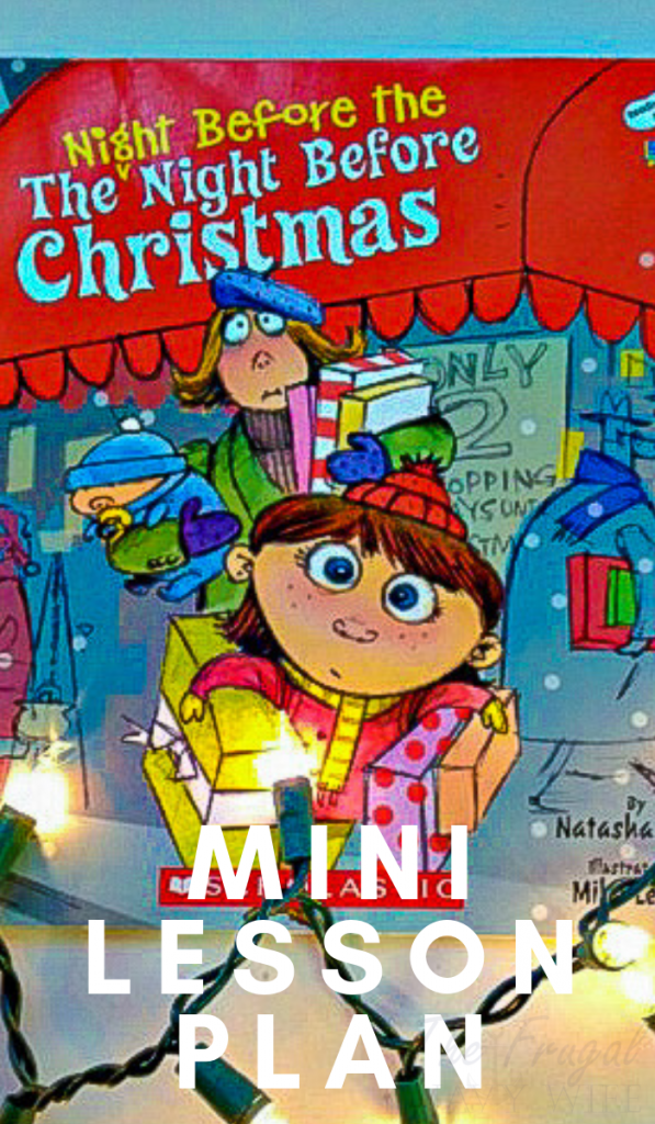 Make reading this book part of your night before, the night before Christmas tradition and then enjoy some of these great enrichment activities to follow! #christmas #homeschool #minilesson #frugalnavywife | Homeschool Lessons | Homeschool Mini Lesson | Christmas Homeschool Unit | Christmas