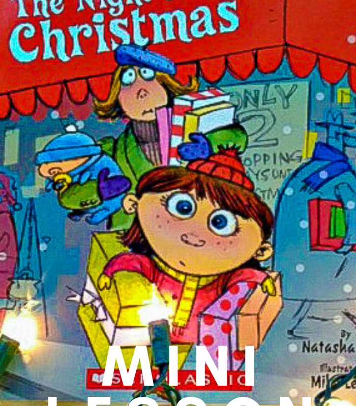 The Night Before The Night Before Christmas Book Mini Lesson Plan