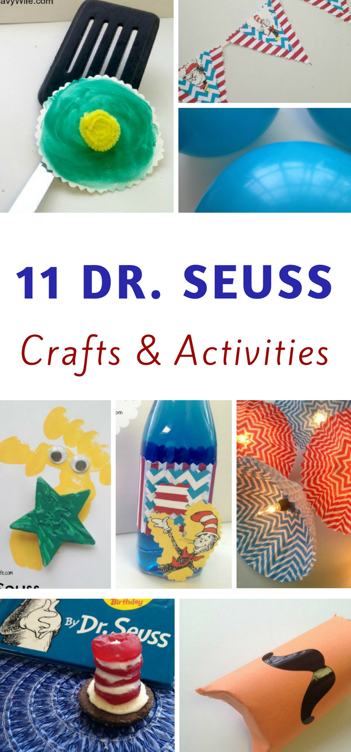 Dr Seuss crafts and activities round up