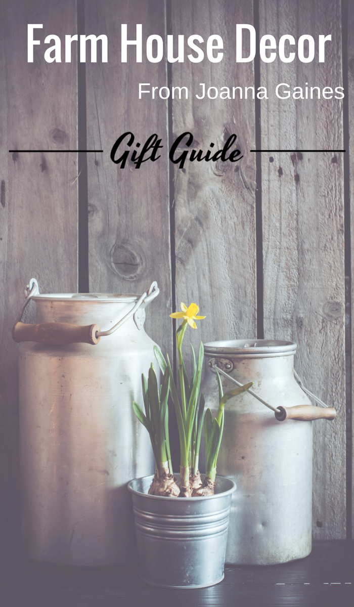 If you are shopping for someone who loves Chip and Joanna Gaines from HGTV's Fixer Upper and their style then check out these gifts they will love!. #giftidea #FrugalNavyWife #giftsforher #giftguides #giftguide #fixerupper #joannagaines #chipandjoannagaines #décorideas #hgtvhome #MagnoliaMarket #magnoliahome