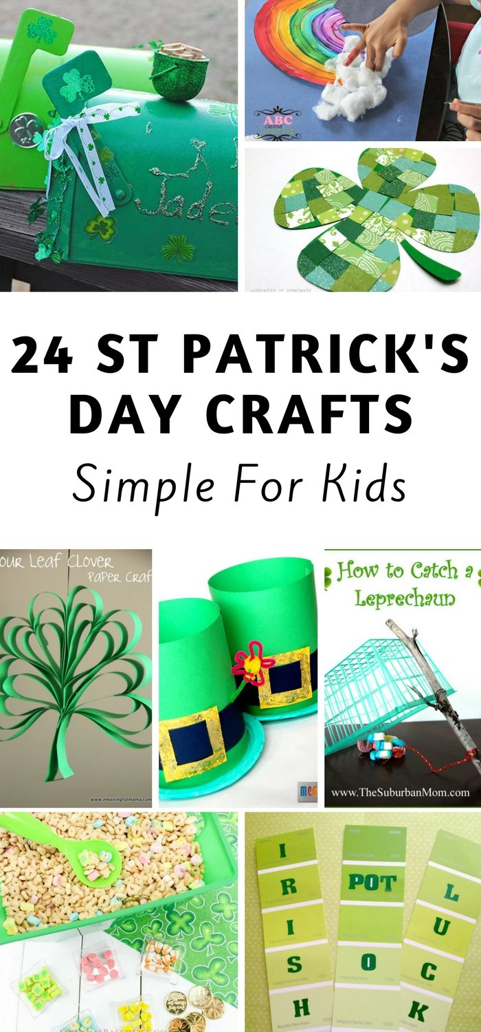 24 St Patrick's Day Crafts for kids