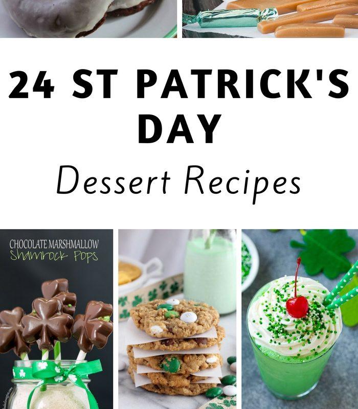 24 St. Patrick's Day Dessert Recipes
