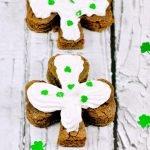 St. Patrick's Day Shamrock Chocolate Brownies