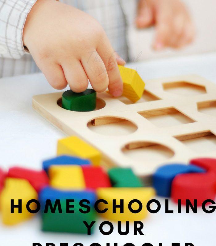 Top Tricks and Tips to Homeschooling Your Preschooler!