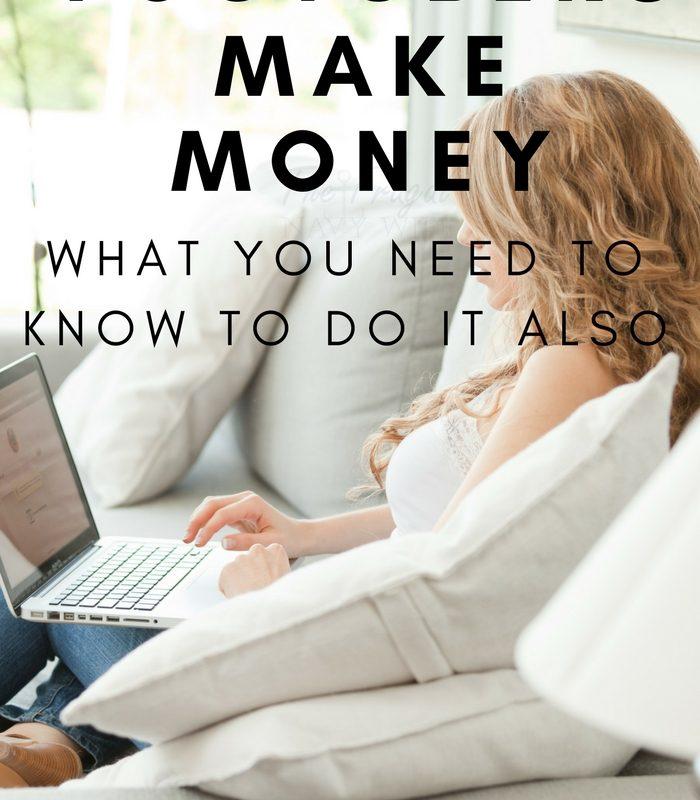 How do Youtubers Make Money