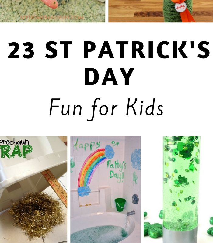 23 St Patricks Day Crafts For Kids